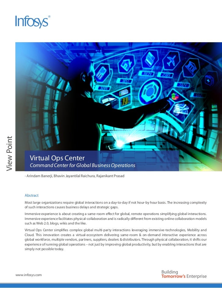 View Point                     Virtual Ops Center                     Command Center for Global Business Operations       ...