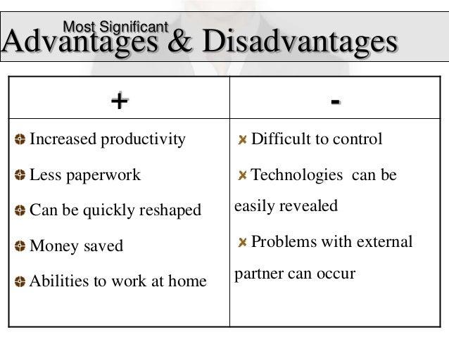 18 most significantadvantages disadvantages - Working On A Team Advantages And Disadvantages