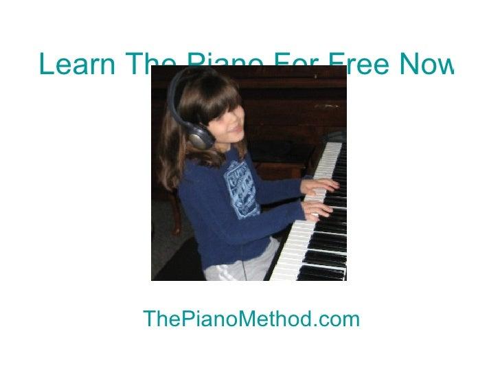 Virtual piano tutorial