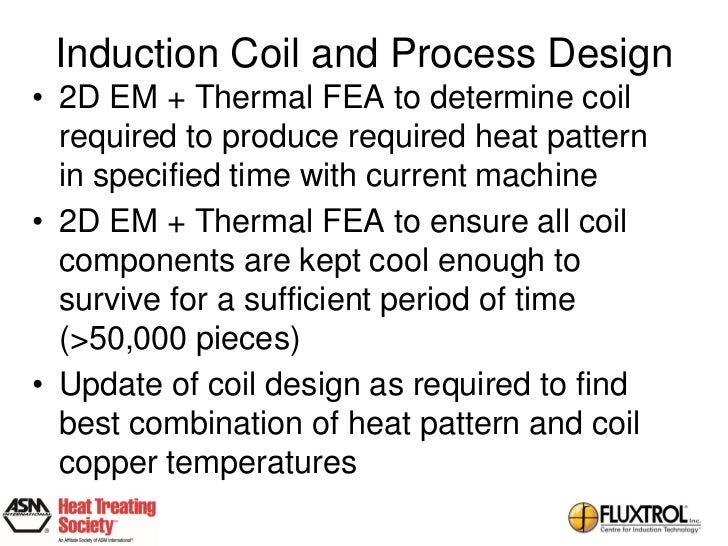 Virtual Prototyping Of Induction Heat Treating