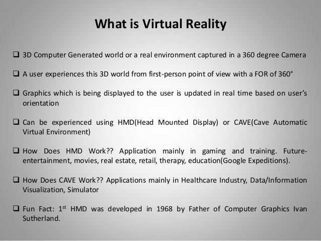 Intro to virtual reality first head mounted display in 1968 freerunsca Choice Image