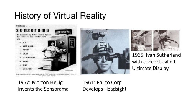 a short history of virtual reality Technological advances mean virtual reality has gone from a clunky gimmick to the next stage of human-computer interaction and social.