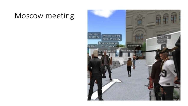 Language instruction itself, in these locations More examples from Second Life