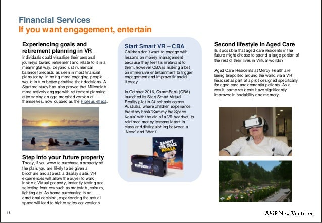 Virtual Reality (VR) Continuum - AMP New Ventures