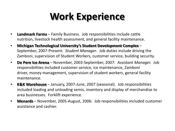 Josh Landwehr Visual Resume