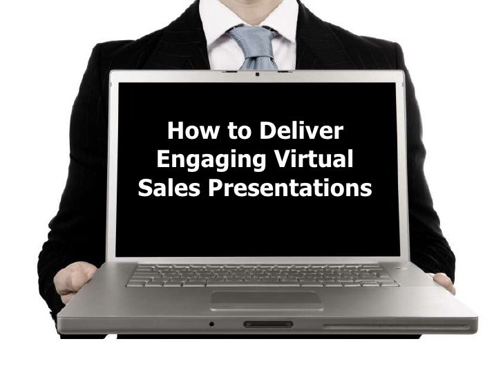 Virtual sales presentation