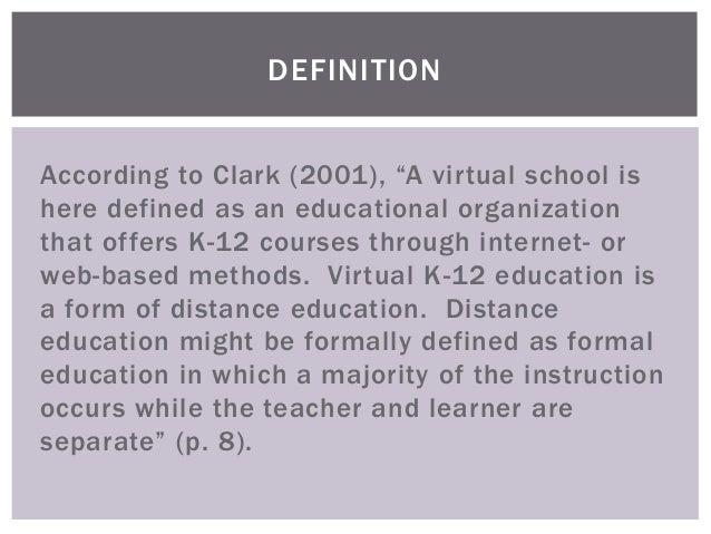 formal schooling definition