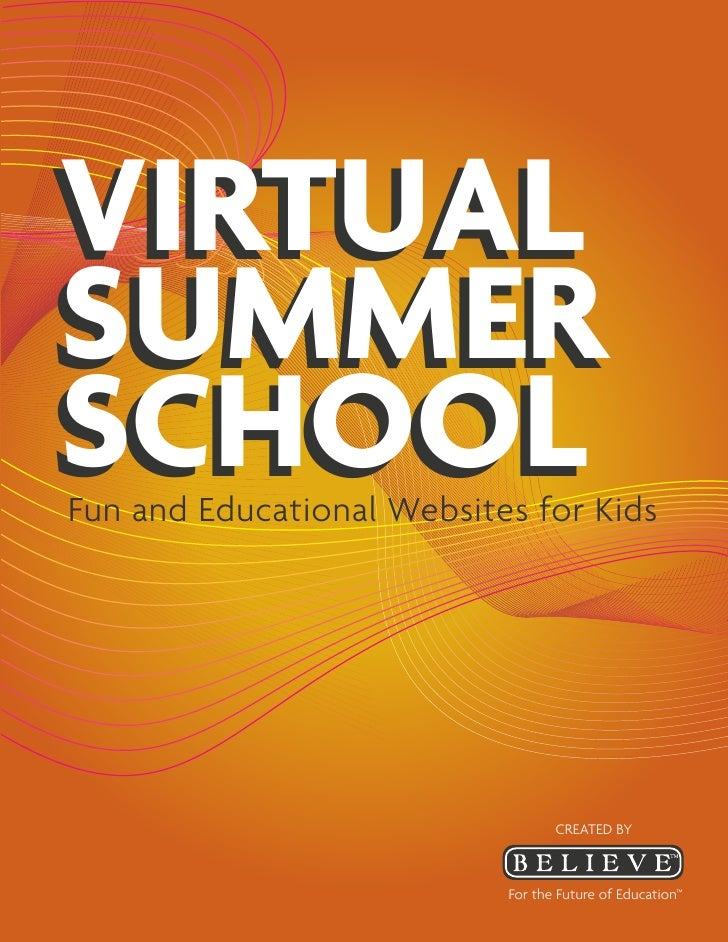 Virtual Summer School Fun And Educational Websites For Kids
