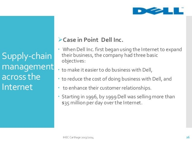 case study supply chain management at dellmar inc Establish, inc is a management consulting firm specializing in the supply chain our supply chain consultants focus on warehousing, transportation, supply chain.