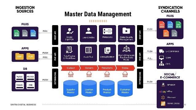 SINTRA DIGITAL BUSINESS Master Data Management 5
