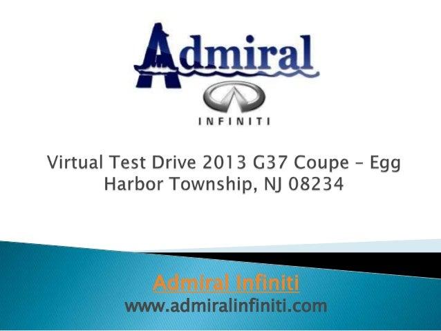 Admiral Infiniti www.admiralinfiniti.com