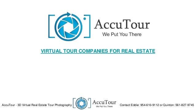Virtual Tour Companies for Real Estate