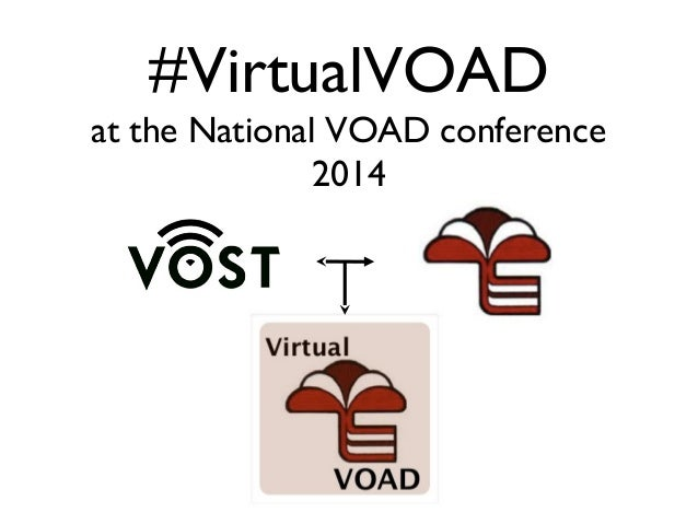 #VirtualVOAD at the National VOAD conference 2014