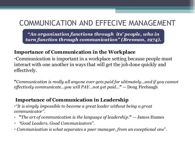 the art of communication and message transmission at the workplace 2018-5-9  why communication is essential for great  not just transmission of information communication is  as the message you're delivering communication.
