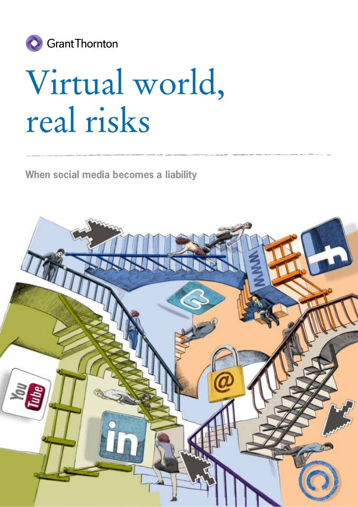 Virtual world,real risksWhen social media becomes a liability