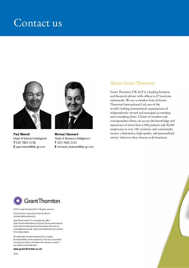 Contact us                                                                                        About Grant Thornton    ...