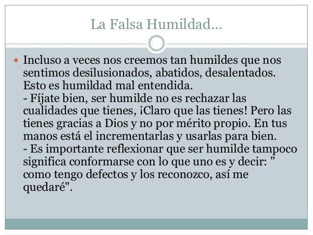 Virtud De La Humildad