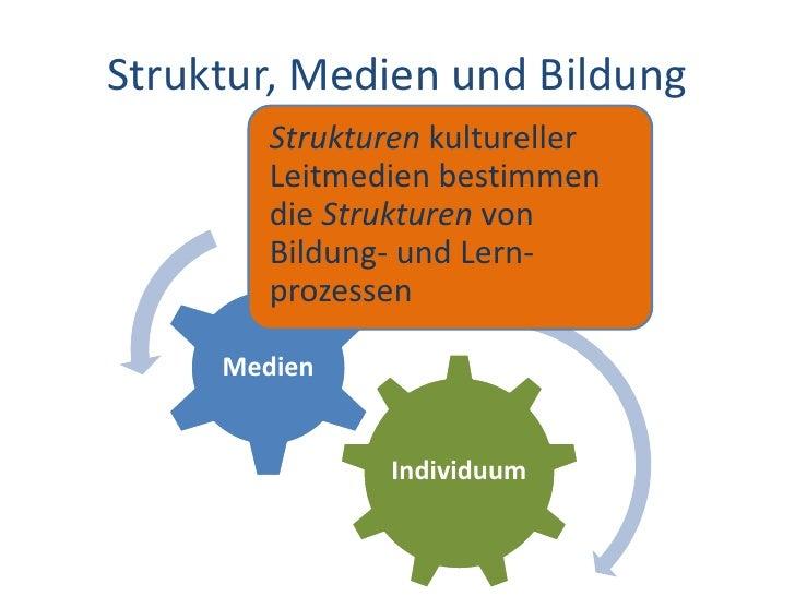 Dr. Benjamin Jörissen – www.joerissen.name     Struktur, Medien und Bildung         Strukturen kultureller         Leitmed...