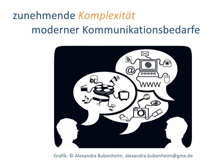 Dr. Benjamin Jörissen – www.joerissen.name     zunehmende Komplexität    moderner Kommunikationsbedarfe            Grafik:...