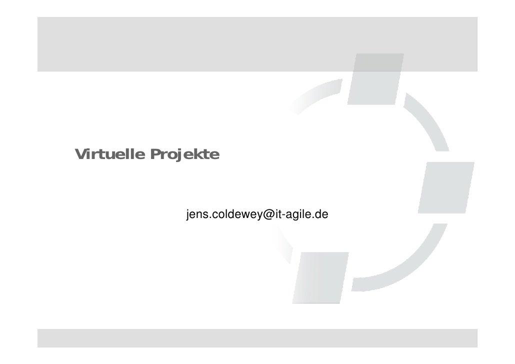 Virtuelle projekte