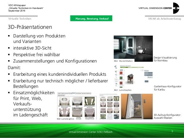 whitepaper virtuelle techniken im handwerk. Black Bedroom Furniture Sets. Home Design Ideas