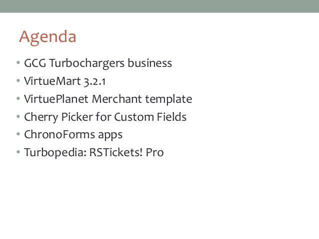 VirtueMart 3 case study Slide 2