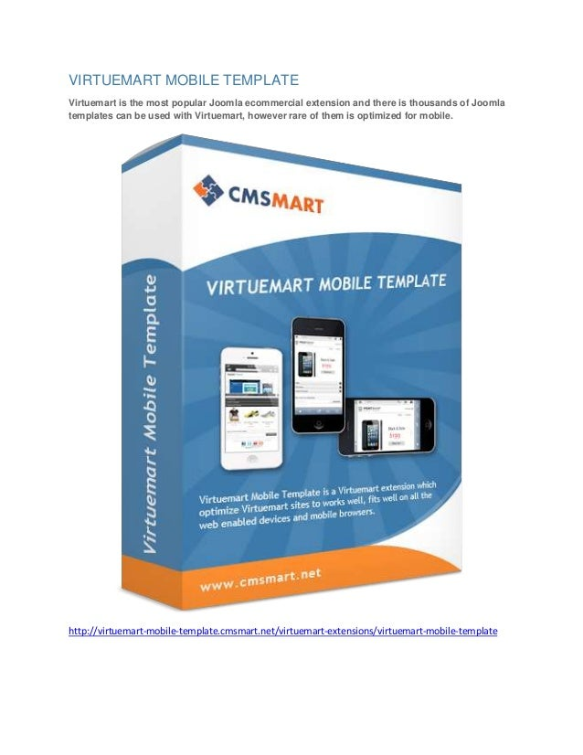 VIRTUEMART MOBILE TEMPLATE Virtuemart is the most popular Joomla ecommercial extension and there is thousands of Joomla te...