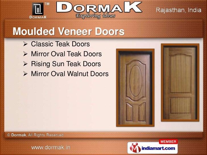 ... Moulded Doors; 9.  sc 1 st  SlideShare & Virtu Laminated Doors by Dormak Jaipur