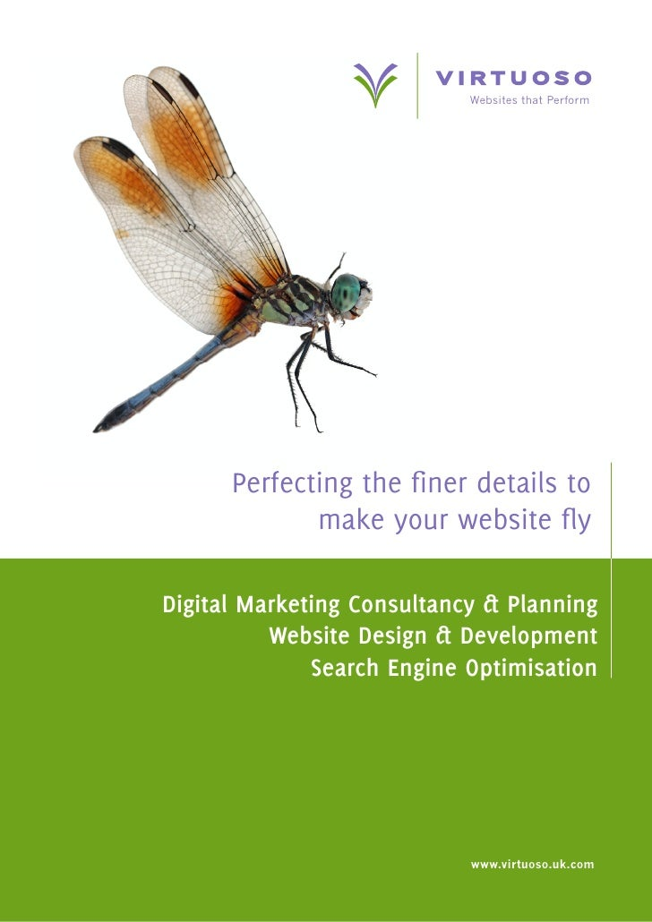 Websites that Perform           Perfecting the finer details to              make your website fly  Digital Marketing Cons...