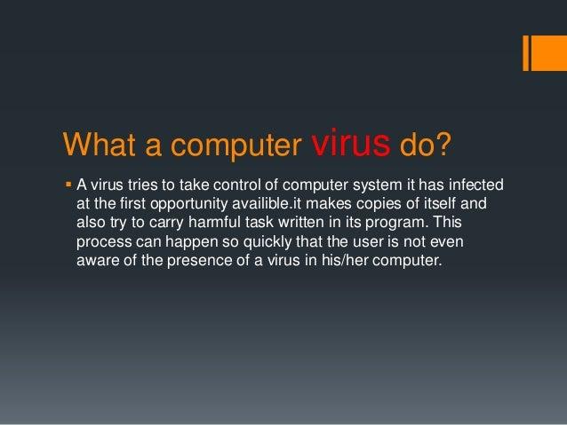 Virus And Antivirus Ppt Free Download