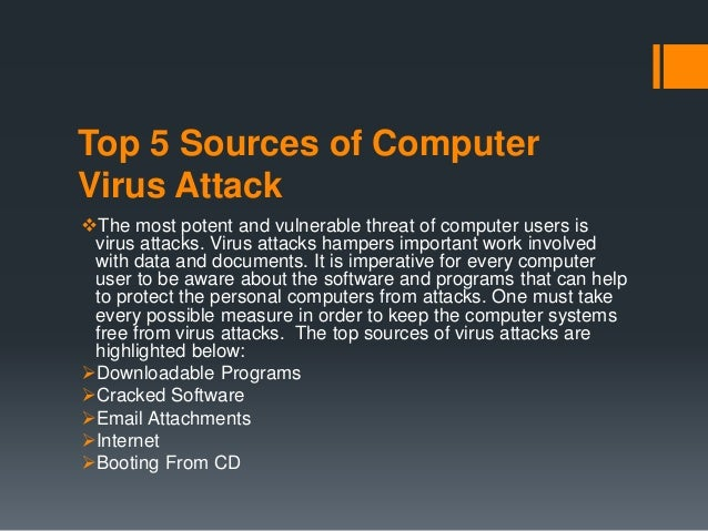 sources of computer virus pdf
