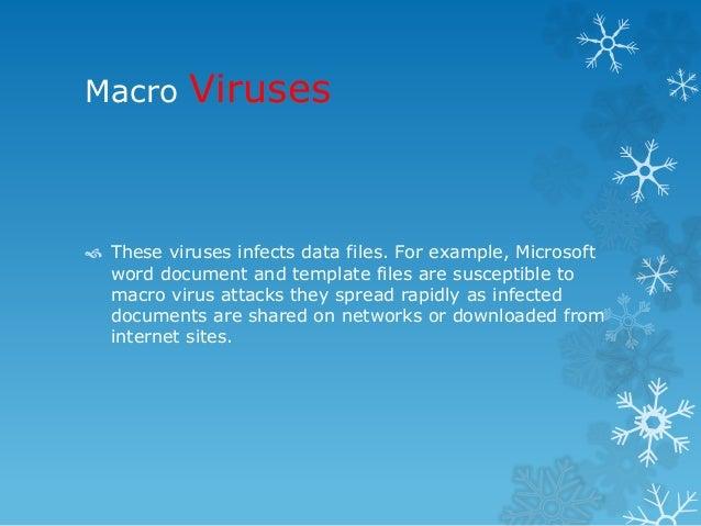 Computer viruses power point presentation