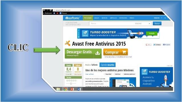 descargar avast free antivirus gratis 2015