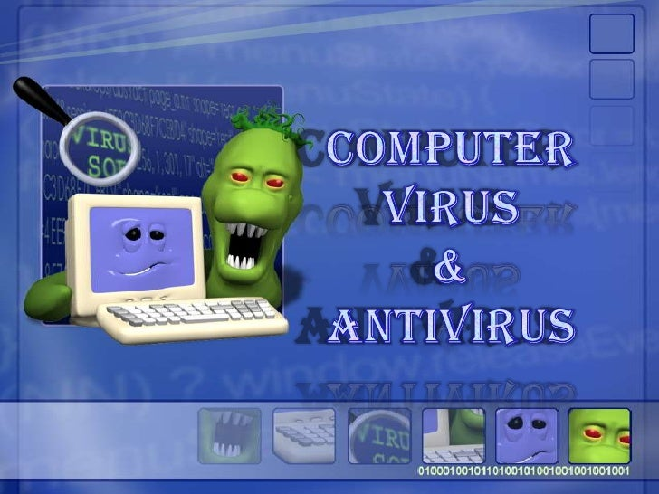 COMPUTER VIRUS <br />& <br />ANTIVIRUS<br />