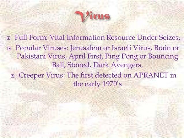 Virus class 7