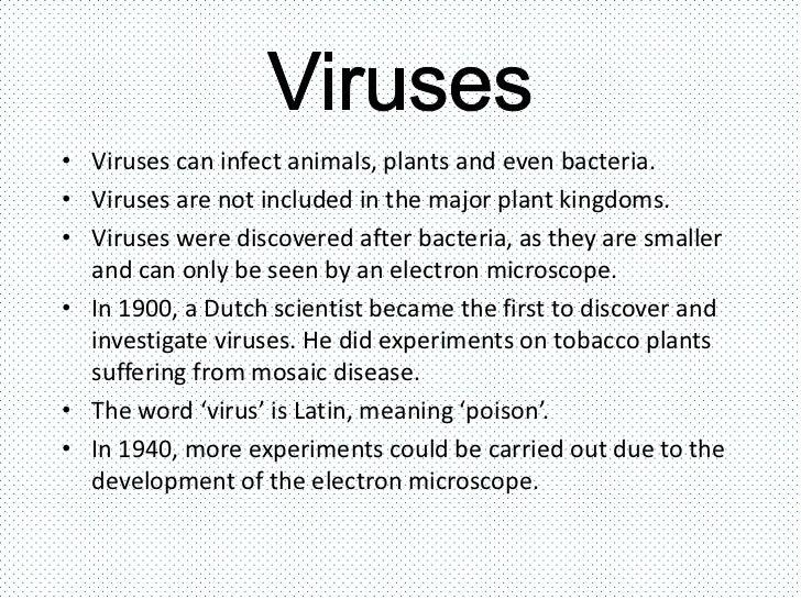 Viruses, bacteria, protists and fungi