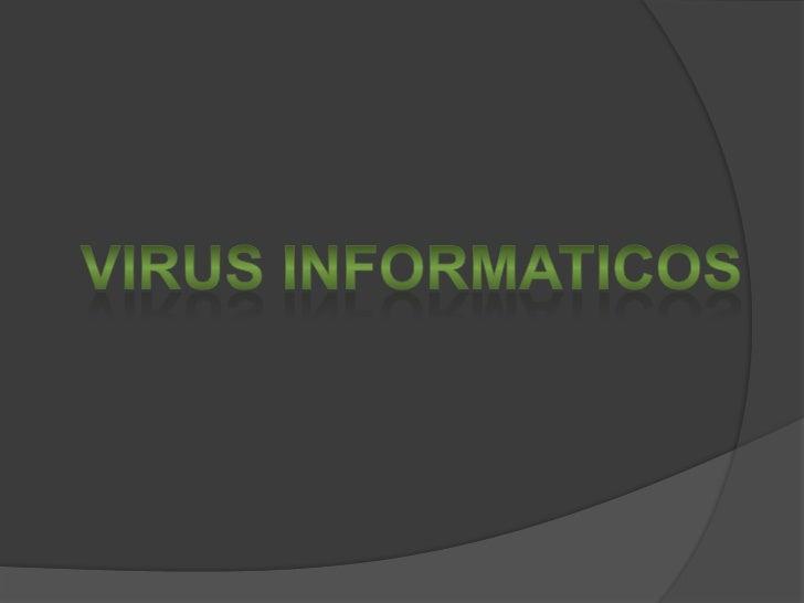 Virus informaticos<br />