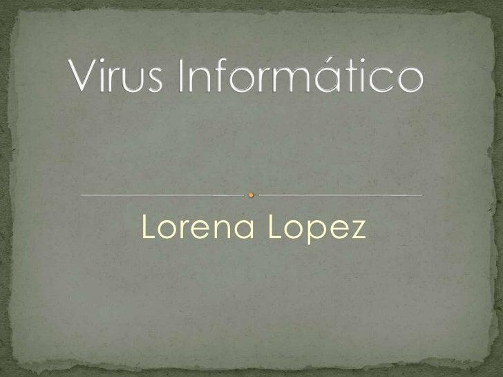 Lorena Lopez