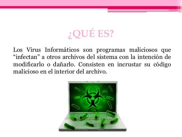 Virus informáticos Slide 2