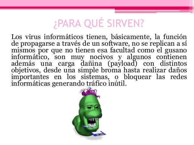 Virus informáticos Slide 3