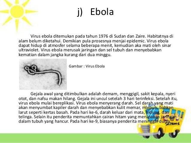 Peranan Virus Yang Merugikan