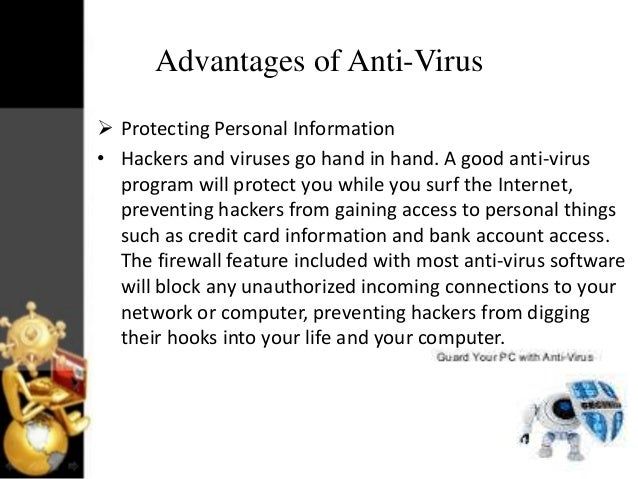 Advantages Of Credit Card >> Virus vs anti virus