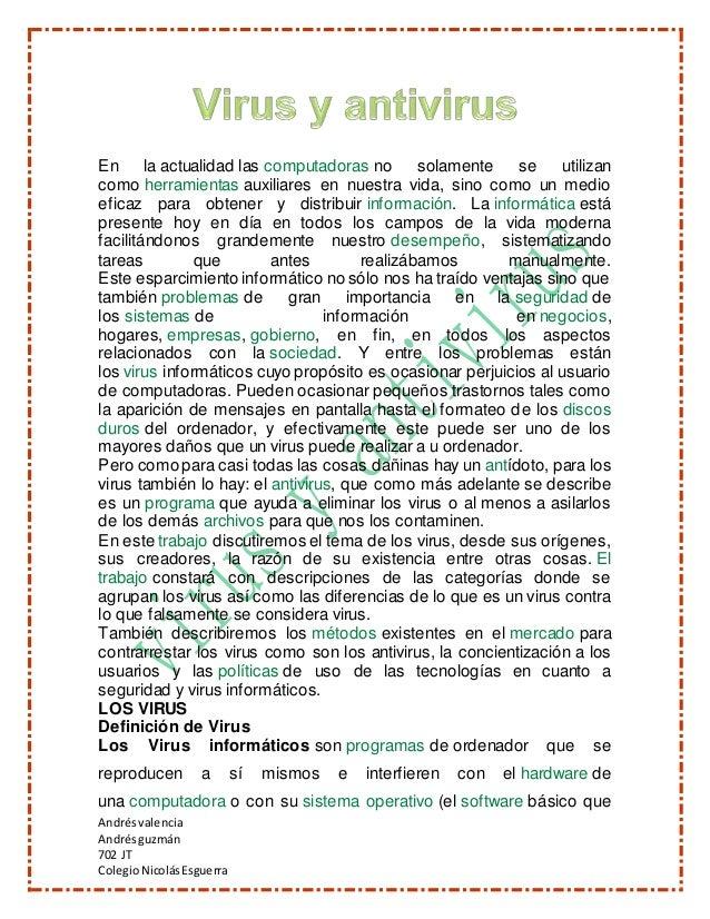 Andrésvalencia Andrés guzmán 702 JT ColegioNicolásEsguerra En la actualidad las computadoras no solamente se utilizan como...