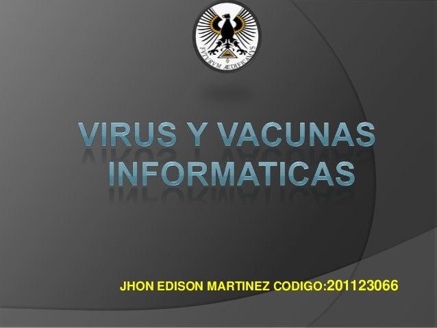 JHON EDISON MARTINEZ CODIGO:201123066