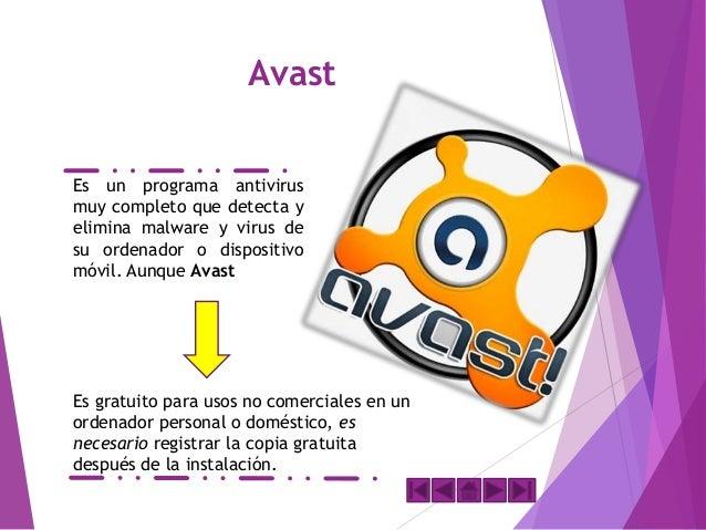 AVIRA Explora discos duros y extraíbles en busca de virus y también corre como un proceso de fondo, comprobando cada archi...