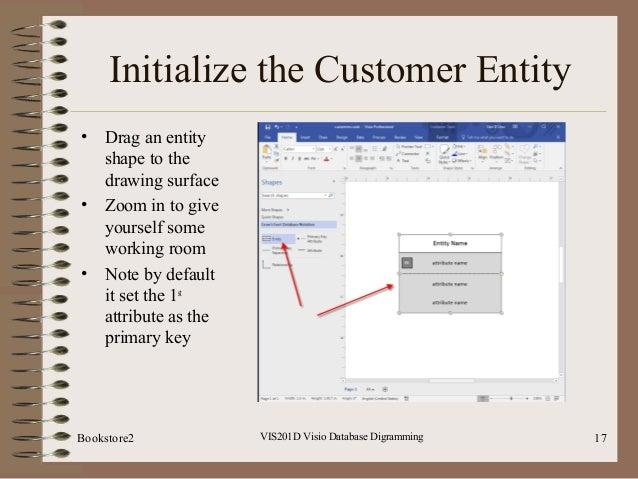 Vis201d visio database diagramming visio database digramming 16bookstore2 17 ccuart Choice Image