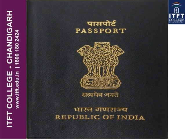 Itft Passport Amp Visa