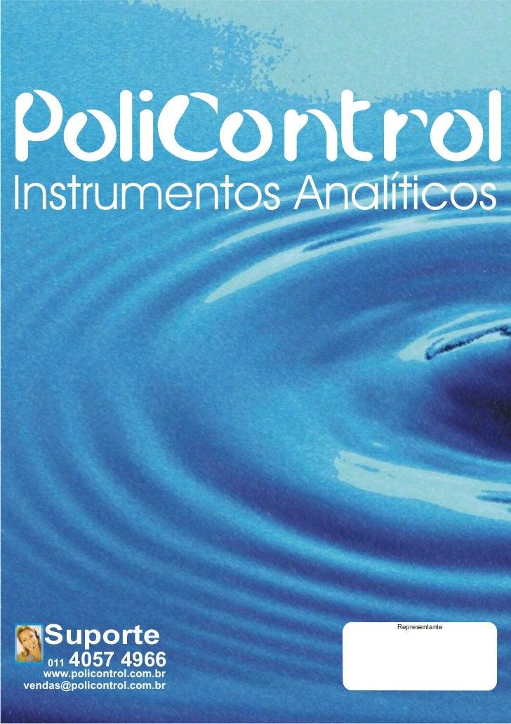 Instrumentos Analíticos Suporte                   Representante 011   4057 4966