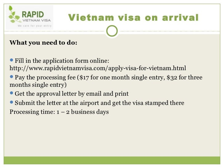 Visa To Vietnam For Germany