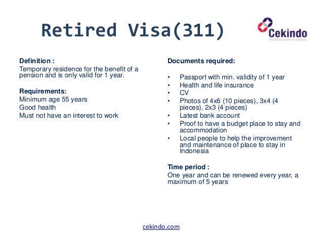 visiting indonesia visa application procedure